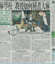 3525-OTHERSIDE FARMS Medical Marijuana Information Center in Sing Tao Daily Newspaper