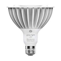GE Lighting 93101232 32-Watt PAR38 LED Grow Light for Indoor Plants, Full, Balanced Spectrum