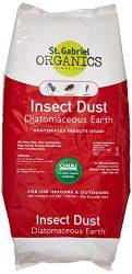 St. Gabriel Laboratories All Natural Indoor/Outdoor Insect Dust Repellent – 4.4 lb Bag 50020-7