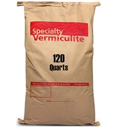 EasyGoProdcuts Vermiculite 120 Quarts – 4 Cubic Foot of Organic Planting Soil Additive – Incubator