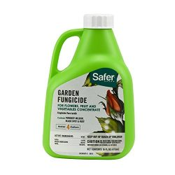 Safer 5456 Garden Fungicide Concentrate, 16-Ounce