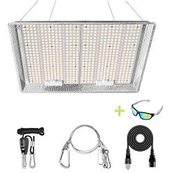 iPower 3000W Dimmable Full Spectrum LED Grow Light Daisy Chain for Hydroponic Indoor Plants Seeding Veg and Bloom in Greenhouse Tent, 3x4ft 4x5ft Coverage