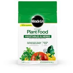Miracle-Gro Water Soluble Plant Food Vegetables & Herbs 2 lb