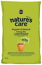 Nature's Care Organic Potting Mix with Water Conserve, 16-Quart