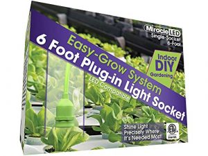 MiracleLED 604689 Single-Socket (4-Pack) Grow Tent Fixture
