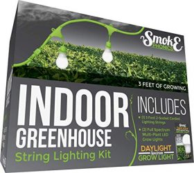 Miracle LED SmokePhonics Indoor Greenhouse Corded Lighting Kit Add-On 3-Foot 2-Socket with Two Full Spectrum Grow Lights (601856)