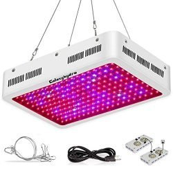 Roleadro 2000W LED Full Spectrum Grow Lights for Indoor Plants, Greenhouse, Seedlings, 2000W, 2000W