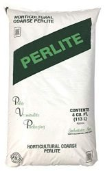 PVP Industries PVP105408 120 Quarts – 4 Cubic Foot of Organic Perlite Planting Soil Additive Gi, White