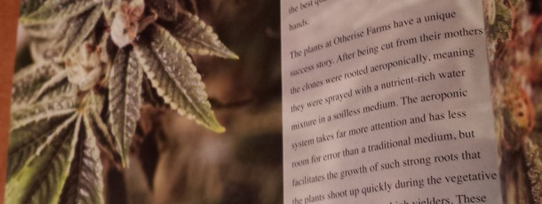 Otherside Farms in Cannabis Now Magazine